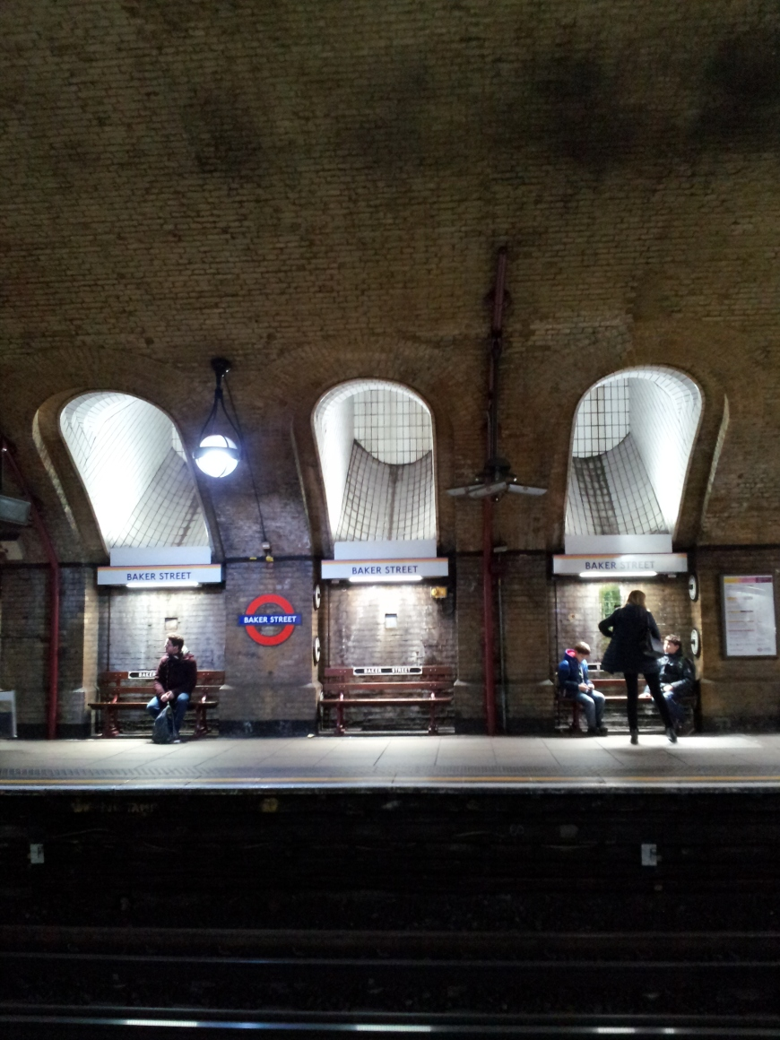 Baker Street tube station, London