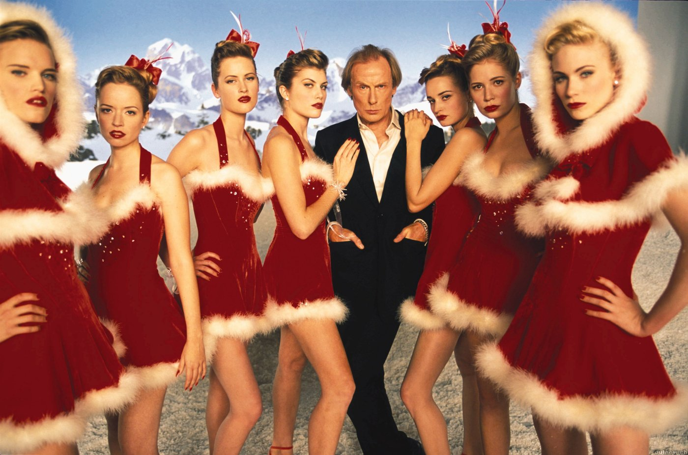 Christmas is all around: Bill Nighy stars as Billy Mack in Love Actually