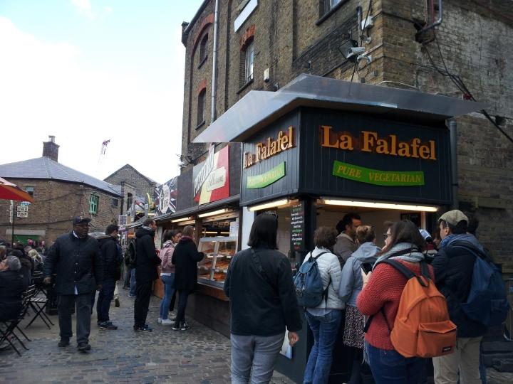 La Falafel, Camden markets