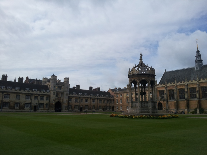 Trinity College in Cambridge, UK