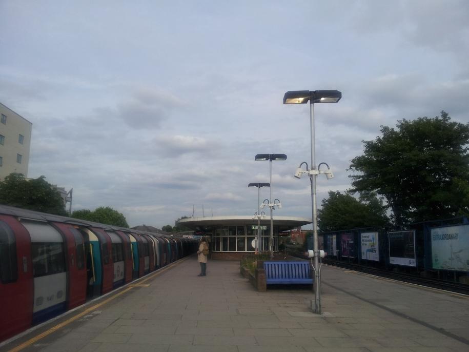 Kilburn Station, London, UK