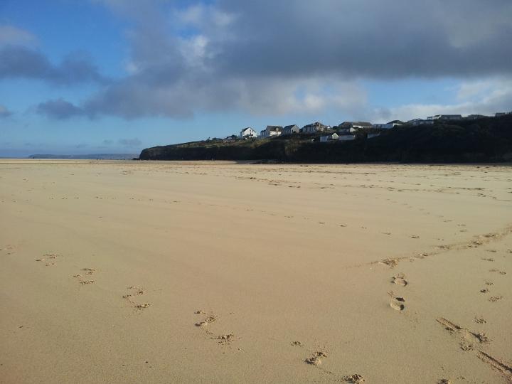 Hayle beach, Cornwall